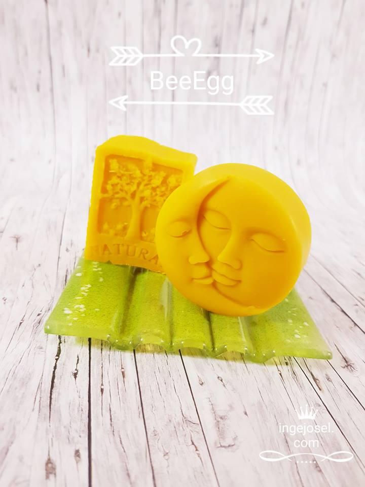 BeeEgg - die knallgelbe Bienenwachs-Eiweiss-Seife
